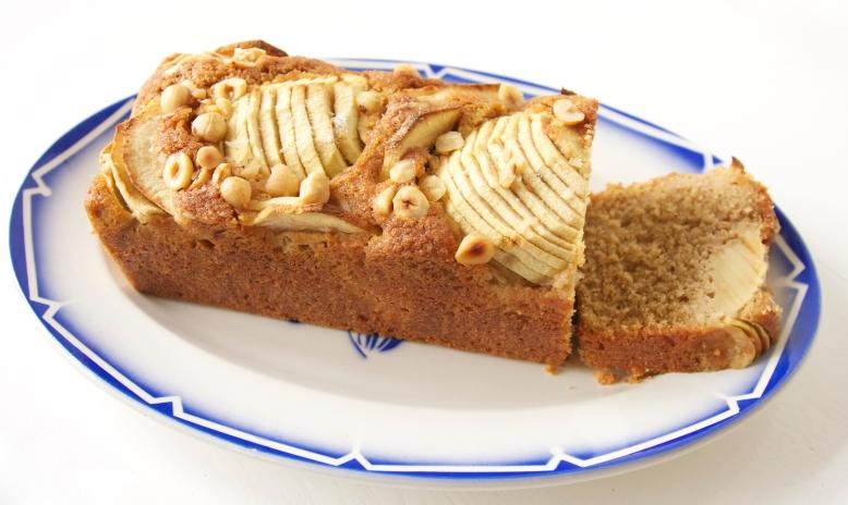 appel hazelnoot cake