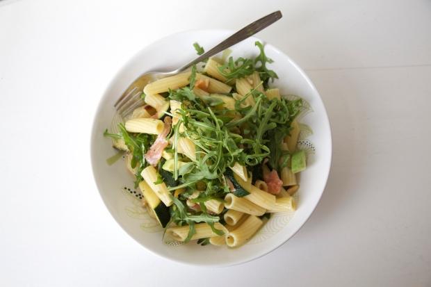 zalm pasta salade 2
