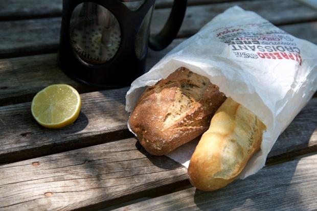 Stokbrood en koffie