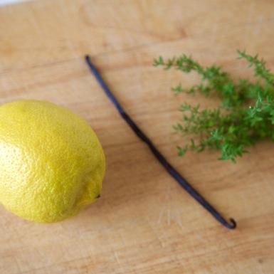 citroen tijm vanille
