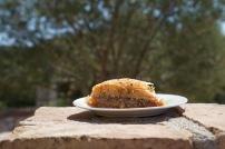 Baklava van de lokale bakker in Magganos