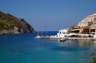 De haven van Assos