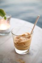 Espresso freddo bij Melina in Fiskardo