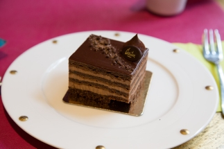 Christian Strasbourg - chocolade taartje
