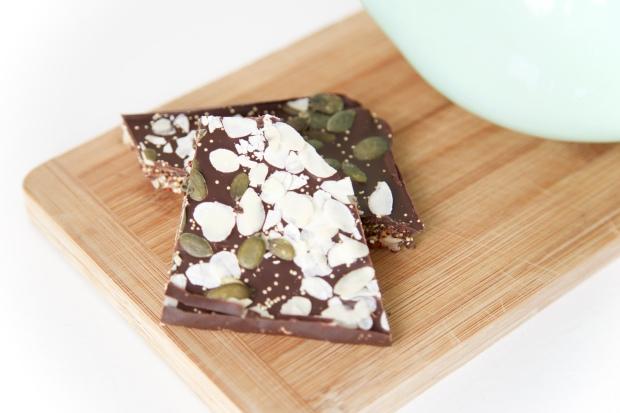 Quinoa chocolade bars