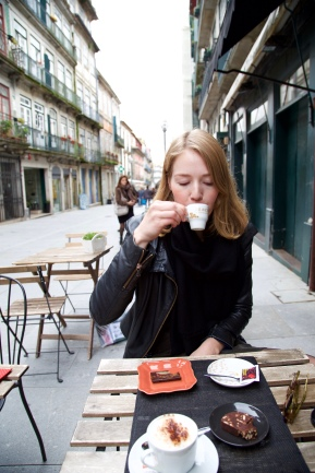 Espresso bij Chocolataria das Flores