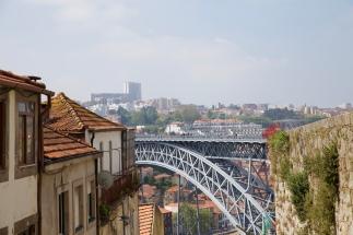 Uitzicht op de brug