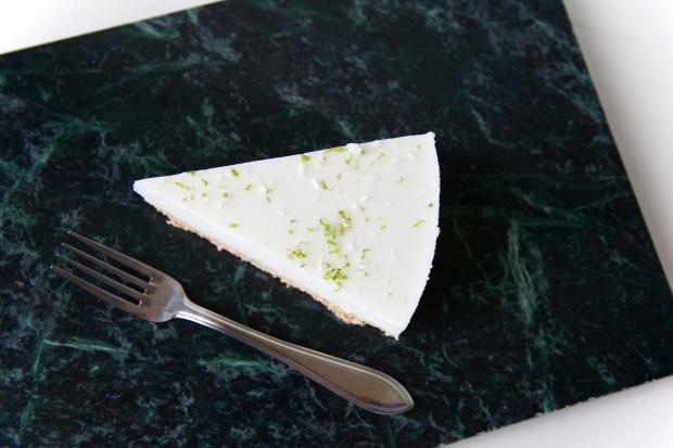 kokos limoen taart